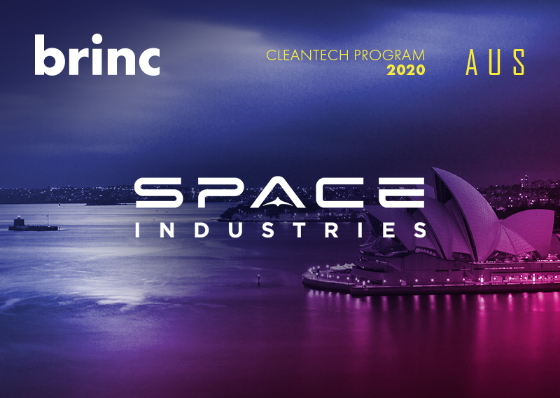 Space Industries is Brinc's first Australian startup joining its CleanTech Accelerator